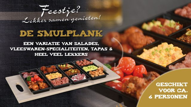 Smulplank 6 pers